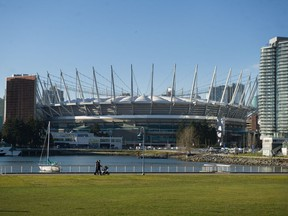 Remember this place? B.C. Place Stadium should be welcoming sports fans through its doors by August.