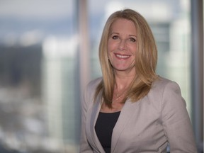 Edelman Vancouver general manager Bridgitte Anderson in her downtown office.