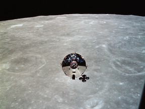 """During its 8-hour 10-minute solo flight Snoopy, the lunar module in Apollo 10, met all planned objectives. Apollo 10 was a """"dress rehearsal"""" for Apollo 11, which had humans reach the moon for the first time."""