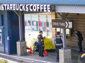 RCMP and IHIT investigate after Suminder (Ali) Grewal was shot dead Friday morning at the Southpoint Exchange Mall in South Surrey.