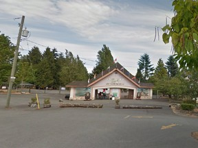 A child is in hospital after being bit by an animal at the Greater Vancouver Zoo on Monday evening.