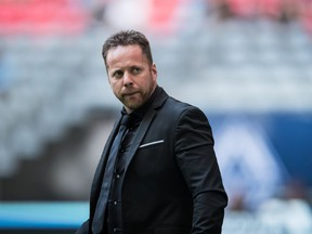 Vancouver Whitecaps head coach Marc Dos Santos is under pressure to find results in the final year of his contract.