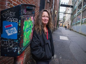 Tamara Loyer of Beyond the Street in the Downtown Eastside.