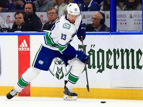 Jay Beagle and the Vancouver Canucks will focus forward on their five-game NHL road trip as Game 1 in Tampa didn't go as planned.