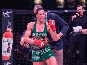 Port Moody's Julia Budd earned a split decision against Arlene Blencowe at Bellator 189 in Thackerville, Okla., where she retained the Bellator MMA featherweight title.