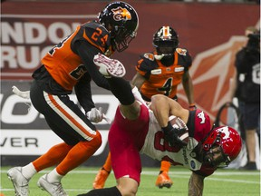 The B.C. Lions released defensive back Chris Edwards on Tuesday to pursue NFL opportunities.