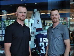 'We couldn't be more happy with how, like I said, how they included us in everything and really given us an opportunity to learn,' Daniel Sedin says of Canucks management. 'It's something we're grateful for.'