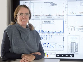 SFU professor Caroline Colijn holds the Canada 150 Research Chair in Mathematics for Evolution, Infection and Public Health.