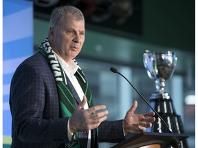 The CFL was looking forward to enjoying some television coverage this Thursday with its 2020 entry draft. However, news leaked out that commissioner Randy Ambrosie, pictured, has requested federal aid for his league to deal with the COVID-19 pandemic and that has become bigger news than the draft.