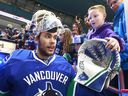 Eddie Lack never secured the No. 1 job in Vancouver, but Canucks' fans embraced the upbeat goaltender and his fun ways. Lack announced his retirement from hockey last month, earlier than expected because of the COVID-19 outbreak.