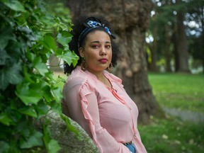 'It's really amazing to see that even in Vancouver, which is obviously quite removed from a lot of the incidents that we're seeing in the States, that people are really caring,' says Cicely Belle Blain, a co-founder of Black Lives Matter Vancouver.