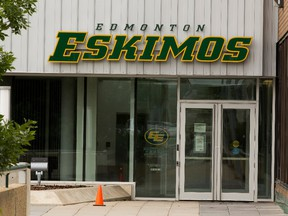 File photo of Commonwealth Stadium to go with a story about the Edmonton Eskimos changing their name on Tuesday, July 21, 2020 in Edmonton.