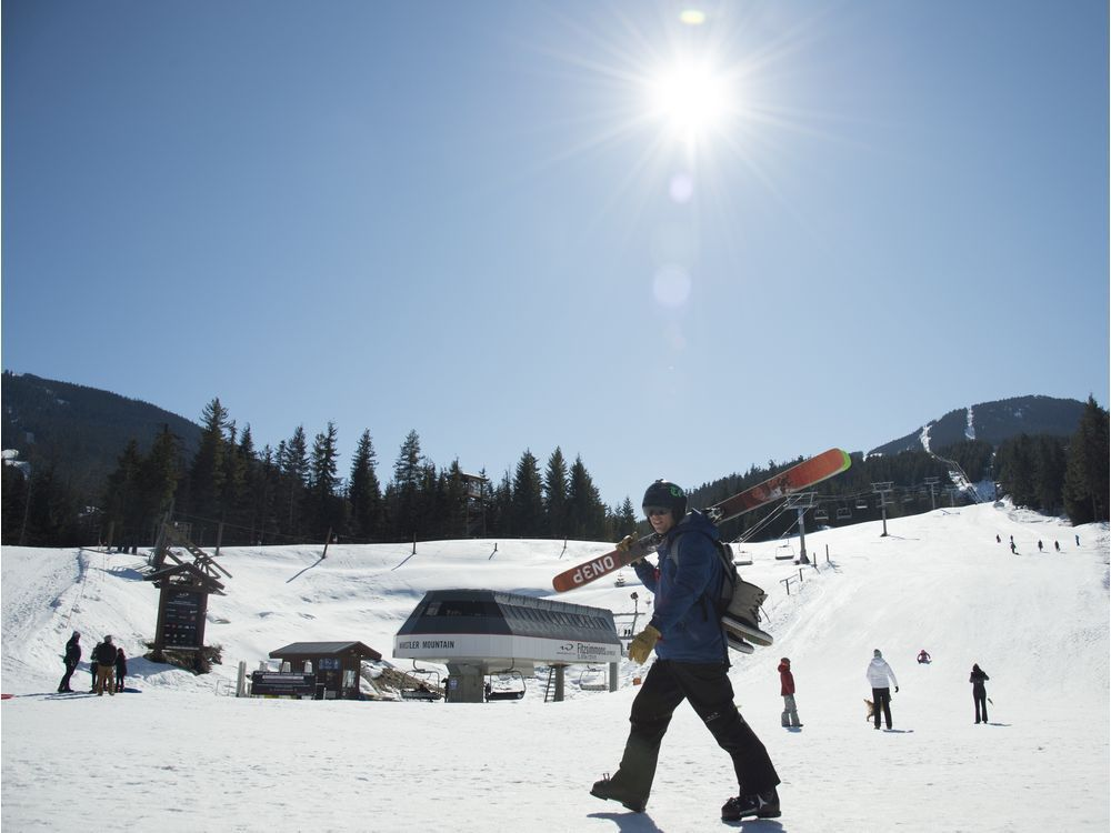 What pandemic skiing will look like at Whistler Blackcomb this winter