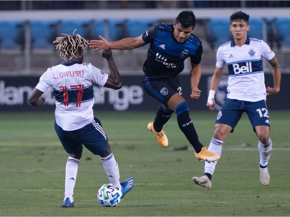 Whitecaps focusing on San Jose instead of crunching playoff numbers