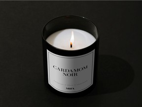 The Cardamom Noir candle from the Vancouver-based company Mifa.