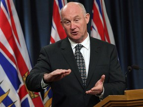 Public Safety Minister Mike Farnworth.