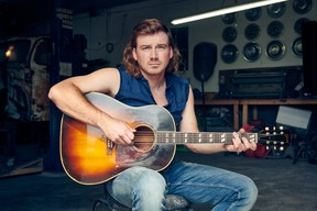 Country music star Morgan Wallen.