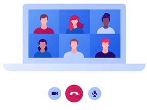 There are several platforms and services available to the public, such as Skype, Microsoft Teams, Google Meetings and Zoom.