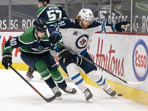 Elias Pettersson is sick of losing. Kyle Connor's Jets will be happy to keep making life hard for the Canucks.