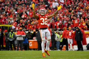 Safety Tyrann Mathieu of the Chiefs is featured in the GameDay's Key Matchup against Tom Brady.