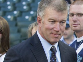 Seattle Mariners COO Kevin Mather is pictured before a game between Seattle Mariners and Oakland Athletics at Safeco Field on May 8, 2015 in Seattle, Washington.