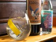A refreshing Vermouth & Tonic made with Esquimalt Wine Co. Dry Vermouth.