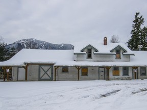 The Hope train station at 111 Old Hope Princeton Wy.