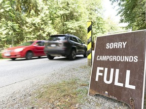 The popularity of B.C. parks was off the charts last summer when they reopened, as British Columbians clamoured to get into the outdoors, say parks proponents AnnitaMcphee, Walt Judas, Louise Pedersen and Jesse Zeman.