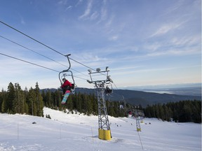 FILE PHOTO - A skiing accident on Mt. Seymour on Saturday night has claimed the life of 11-year-old child.
