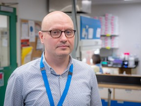 BC Children's Hospital medical microbiologist Dr. David Goldfarb.