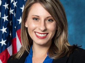 Ex-Democratic congresswoman Katie Hill is suing her ex-husband and two media outlets, claiming raunchy photos were published without her consent.