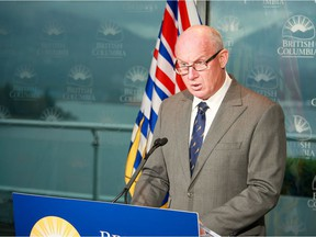 B.C.'s Solicitor General Mike Farnworth says the government is moving forward to make changes to the Motor Vehicle Act that will allow ICBC to deny a driver's licence or vehicle licence to anyone with outstanding fines handed out under the Emergency Program Act and COVID-19 Related Measures Act.