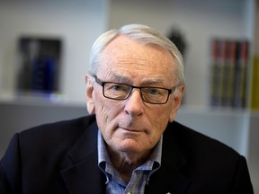 International Olympic Committee (IOC) member Dick Pound, poses in his offices in Montreal, Quebec, Canada February 26, 2020.  REUTERS/Christinne Muschi/File Photo