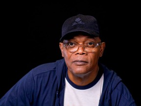 Actor Samuel L. Jackson poses for a portrait for Captain Marvel in Beverly Hills, California , U.S. February 22, 2019.