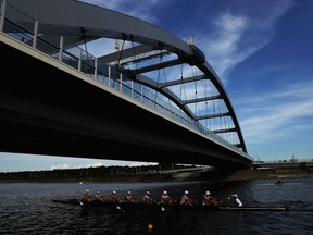 The Sea Forest Waterway will host the rowing, and canoe sprint competition in Tokyo, Japan.