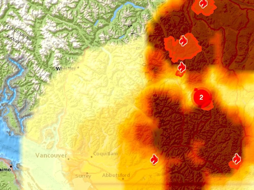 Wildfire smoke coming to Vancouver with possibility of lasting returns: Experts