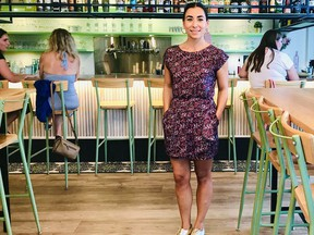 Ayse Barluk (above) and her husband Michael left Vancouver to start a family and get some work-life balance in Penticton, opening Elma, a chic Turkish-inspired restaurant on the Okanagan lakeshore.