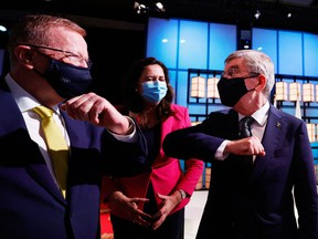In a weird moment during a news conference after Brisbane was awarded the 2032 Olympics, John Coates, the Australian Olympic Committee president ordered Queensland Premier Annastacia Palaszczuk to attend the opening ceremonies in Tokyo on Friday night.