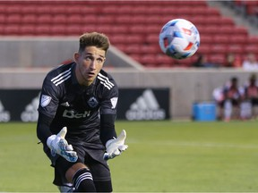 Thomas Hasal (pictured), who will return to the net for the Whitecaps Saturday in the absence of first stringer Max Crepeau, kick-started the Caps' current unbeaten streak by helping beat the L.A. Galaxy 2-1 back on July 17.
