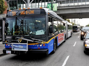 Tired of standing-room only on the bus? A new service will let TransLink riders know the probability of empty seats on their route.