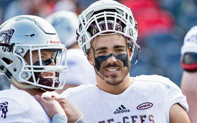 Said Gee-Gees head coach Marcel Bellefeuille. 'In losing Francis, we've lost an outstanding person, teammate, player and veteran leader that made us better in every way possible.'
