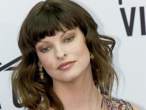 Canadian model Linda Evangelista is pictured in Toronto in this photo taken on May 28, 2004.