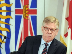 The inquiry into money laundering in B.C. is headed by Justice Austin Cullen.