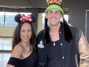"""""""Dancing with the Stars"""" pair Cheryl Burke and Cody Rigsby returned to the studio after testing positive for COVID-19."""