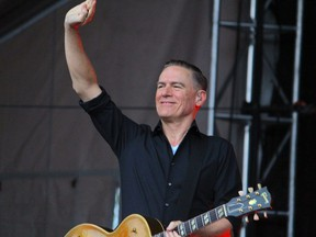Bryan Adams performs at the final Summer Sounds FM concert series at Shell Place in Fort McMurray, Alta. on Saturday, July 13, 2019.
