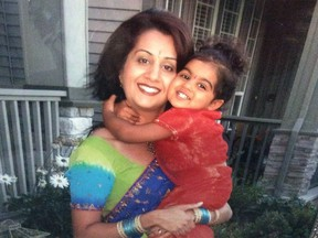 File photo of Manjit, a Surrey mother who was strangled to death in 2006 by her husband Mukhtiar Panghali.