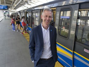 Kevin Quinn, the new CEO of TransLink.