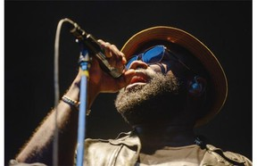 Black Thought and The Roots perform at the Bessborough Gardens during the SaskTel Saskatchewan Jazz Festival Wednesday, July 1, 2015.