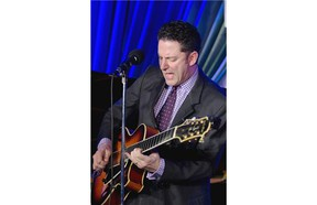 John Pizzarelli doesn't just play songs by the greats and doesn't just refresh the songs in creative ways.