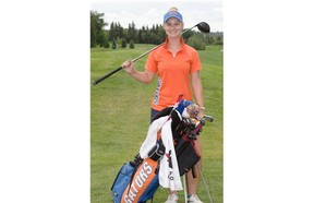 Former Riverside Golf Course junior Anna Young is back playing in the Canadian Women's Amateur Championship and hopes to turn pro later this year.